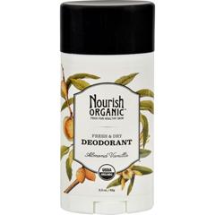 HGR1136100 - NourishOrganic Deodorant - Almond Vanilla - 2.2 oz