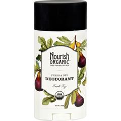 HGR1136118 - NourishOrganic Deodorant - Fresh Fig - 2.2 oz