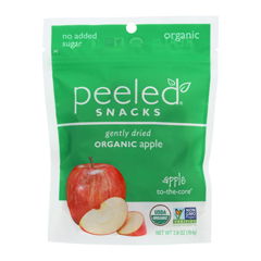 HGR1136795 - Peeled - Dried Fruit - Apple 2 The Core - Case of 12 - 2.8 oz..