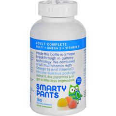 HGR1137371 - SmartyPantsAll-in-One Multivitamin Plus Omega 3 Plus Vitamin D Gummies - 180 Pack