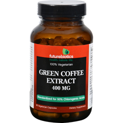 HGR1137900 - FutureBioticsGreen Coffee Extract - 400 mg - 90 Vegetarian Capsules
