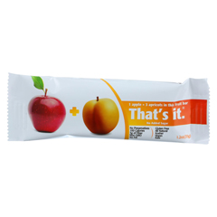 HGR1138122 - That's It - Fruit Bar - Apple and Apricot - Case of 12 - 1.2 oz..