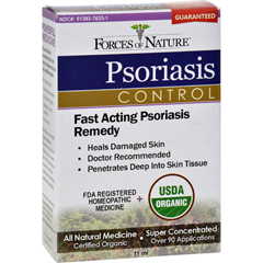 HGR1138163 - Forces of NatureOrganic Psoriasis Control - 11 ml