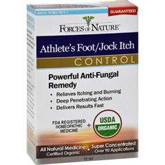 HGR1138221 - Forces of NatureOrganic Athletes Foot and Jock Itch Control - 11 ml