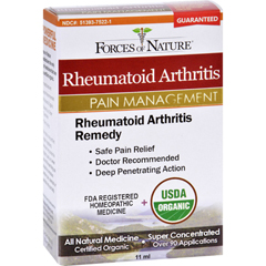 HGR1138353 - Forces of NatureOrganic Rheumatoid Arhtritis Control - 11 ml