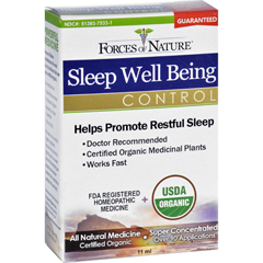 HGR1138411 - Forces of NatureOrganic Sleep Well Being - 11 ml