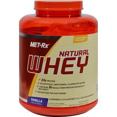 HGR1139088 - Met-RxInstantized 100% Natural Whey Powder Vanilla - 5 lbs