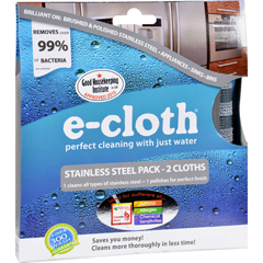 HGR1139567 - E-ClothStainless Steel Cleaning Cloth - 2 Pack