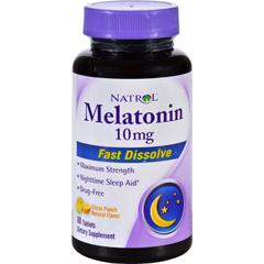 HGR1142926 - NatrolMelatonin - 10 mg - 60 Tablets