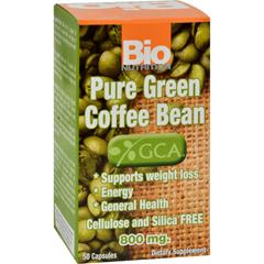 HGR1143668 - Bio NutritionPure Green Coffee Bean - 50 Gelcaps