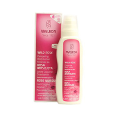 HGR1144666 - WeledaPampering Lotion Normal to Dry Skin Wild Rose - 6.8 fl oz