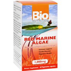 HGR1147479 - Bio NutritionRed Marine Algae - 1000 mg - 60 Vegetarian Capsules