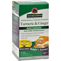 HGR1151083 - Nature's AnswerExtractaCaps Turmeric and Ginger - 90 Veggie Caps