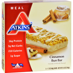 HGR1151315 - AtkinsAdvantage Bar Cinnamon Bun - 5 Bars