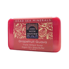 HGR1153873 - One With NatureTriple Milled Soap Bar - Grapefruit Guava - 7 oz
