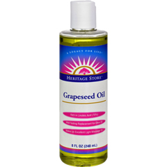HGR1157122 - Heritage Products - Grapeseed Oil - 8 fl oz