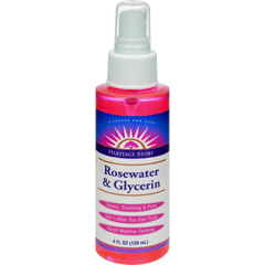 HGR1157312 - Heritage Products - Rosewater and Glycerin Spray - 4 fl oz