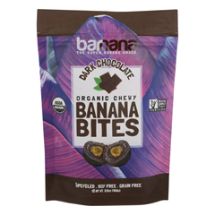 HGR1157742 - Barnana - Chewy Banana Bites - Organic Chocolate - Case of 12 - 3.5 oz..