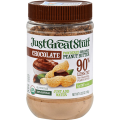 HGR1161652 - Just Great StuffPowdered Chocolate Peanut Butter - Case of 12 - 6.43 oz