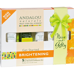 HGR1162155 - Andalou NaturalsGet Started Brightening - 5 Piece Kit