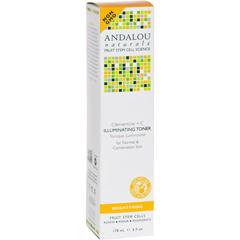 HGR1162262 - Andalou NaturalsBrightening Clementine plus C Illuminating Toner - 6 fl oz