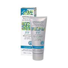 HGR1162775 - Andalou NaturalsClarifying Oil Control Beauty Balm Un-Tinted with SPF30 - 2 fl oz
