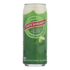 HGR1166453 - Taste Nirvana - Coconut Water - Case of 12 - 16.2 Fl oz..