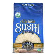 HGR1166909 - Lundberg Family Farms - Organic Sushi White Rice - Case of 6 - 2 lb.