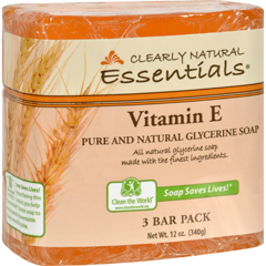 HGR1170497 - Clearly NaturalBar Soap - Vitamin E - 3 Pack - 4 oz