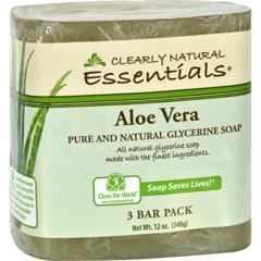 HGR1170505 - Clearly NaturalBar Soap - Aloe Vera - 3 Pack - 4 oz