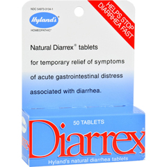 HGR1171313 - Hyland'sHomeopathic Diarrex Tablets - 50 Tablets