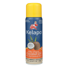 HGR1173913 - Kelapo - Extra Virgin Coconut Oil Cooking Spray - Case of 6 - 5 Fl oz..