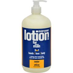 HGR1175371 - EO ProductsEveryone Lotion - Men Cedar and Citrus - 32 oz