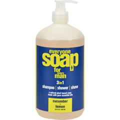 HGR1175488 - EO ProductsEveryone Soap - Men Cucumber and Lemon - 32 oz