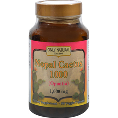 HGR1175561 - Only NaturalNopal Cactus 1000 - 1000 mg - 90 Veggie Capsules