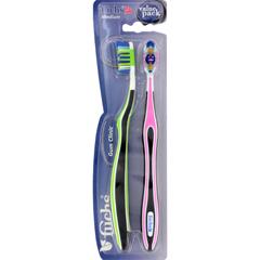 HGR1178839 - FuchsGum Clinic Toothbrush - Medium - Case of 10 - 2 Pack