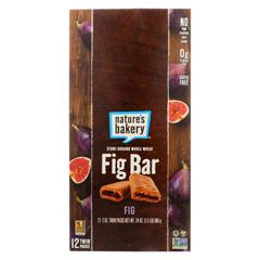 HGR1179142 - Nature's Bakery - Stone Ground Whole Wheat Fig Bar - Original - Case of 12 - 2 oz..