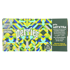 HGR1181866 - Perrier - Sparkling Natural Mineral Water - Plain - Case of 3 - 250 ml