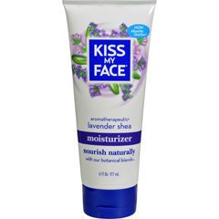 HGR1182104 - Kiss My FaceMoisturizer - Lavender and Shea Butter - 6 oz