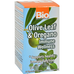 HGR1182849 - Bio NutritionImmune Wellness - Olive Leaf and Oregano - 60 Vcaps