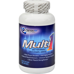 HGR1184191 - Nutrition53Multi1 Daily Performance Multi-Vitamin and Mineral - 120 Caps
