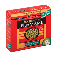 HGR1186931 - Seapoint Farms - Dry Roasted Edamame - Lightly Salted - Case of 12 - 0.79 oz..