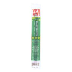 HGR1191428 - Vermont Smoke and Cure - RealSticks - Cracked Pepper - 1 oz.. - Case of 24