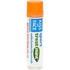 HGR1191451 - Kiss My FaceLip Balm Sport - Mint - SPF 30 - Case of 24 - .15 oz
