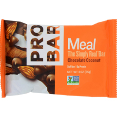 HGR1191550 - ProbarOrganic Chocolate Coconut Bar - Case of 12 - 3 oz