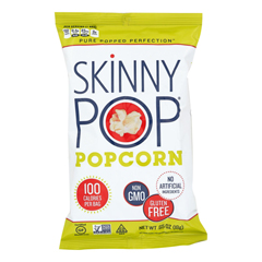 HGR1193861 - Skinnypop Popcorn - 100 Calorie Popcorn Bags - Case of 30 - 0.65 oz..