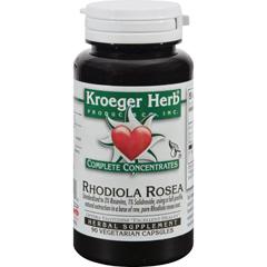 HGR1195130 - Kroeger HerbRhodiola Rosea - 90 Vcaps