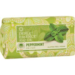HGR1195825 - Desert EssenceBar Soap - Peppermint - 5 oz