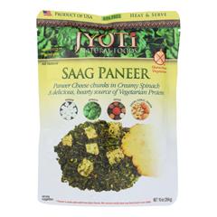 HGR1196641 - Jyoti Cuisine India - Saag Paneer - Case of 6 - 10 oz..