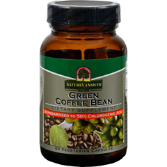 HGR1197706 - Nature's AnswerGreen Coffee Bean Extract - 60 Vcaps